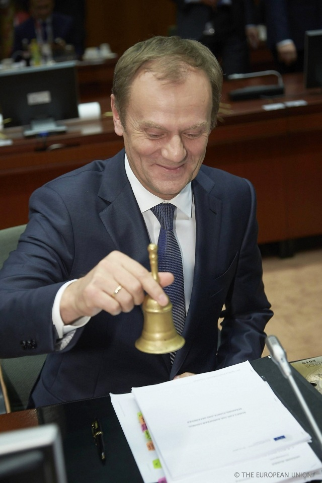 Donald Tusk. Kuva_European Council