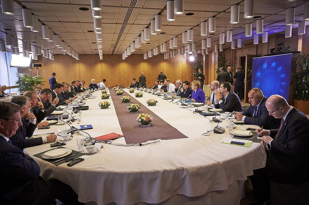 Kuva: European Council -Flick-tili. Informal meeting of the 27 EU Heads of State or Government https://www.flickr.com/photos/europeancouncil_meetings/27362580344/in/dateposted/