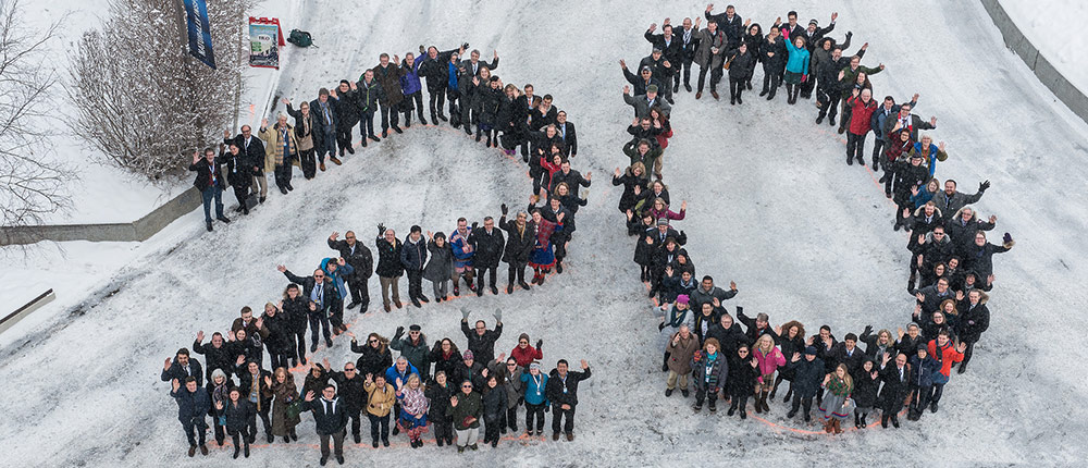 Arktinen neuvosto 20v. Kuva: Arctic Council Secretariat / Linnea Nordström, Flickr.com cc by-nd-2.0