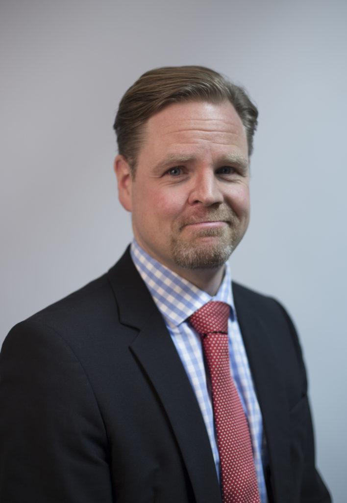 Janne Kuusela. Kuva: puolustusministeriö
