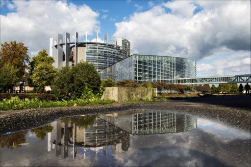 Euroopan parlamentin rakennus Strasbourgissa. Kuva: European Union 2017 - European Parliament.