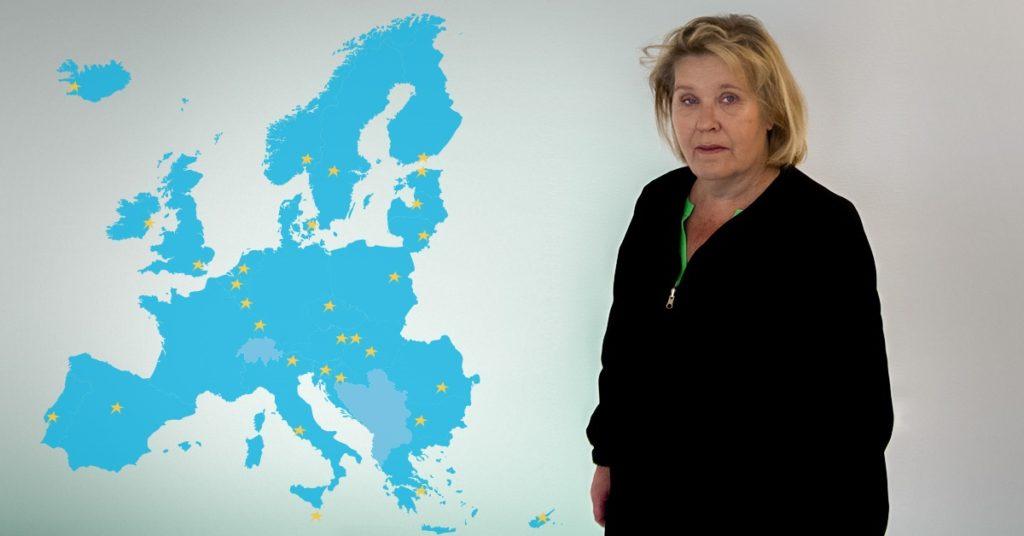 Leena Lindström har på paradplats fått följa hur de finländska nätköpen har ökat. Foto: Konsumenteuropa