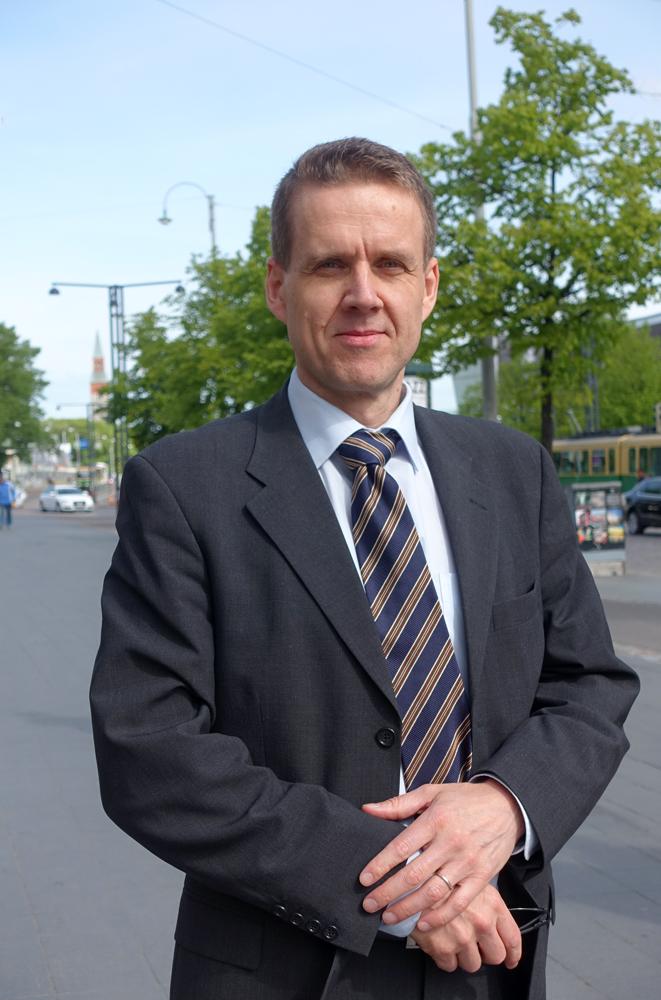 Maahanmuuttojohtaja Tuomo Kurri. Kuva: sisäministeriö.