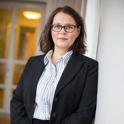 Viestintäpäällikkö Anne Sjöholm