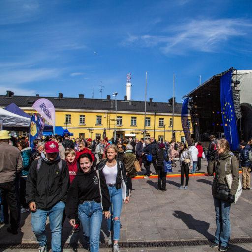 Enligt Europeiska kommissionen anser 93 procent av EU:s invånare att klimatförändringen är ett allvarligt problem. Foto: Europainformationen / Petteri Heliste