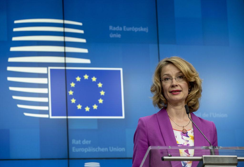 Eurooppa-asioista vastaavat ministerit edustavat maitaan EU:n yleisten asiain neuvostossa. Suomea edustaa kokouksissa Eurooppa-ministeri Tytti Tuppurainen. Kuva: Euroopan unioni.