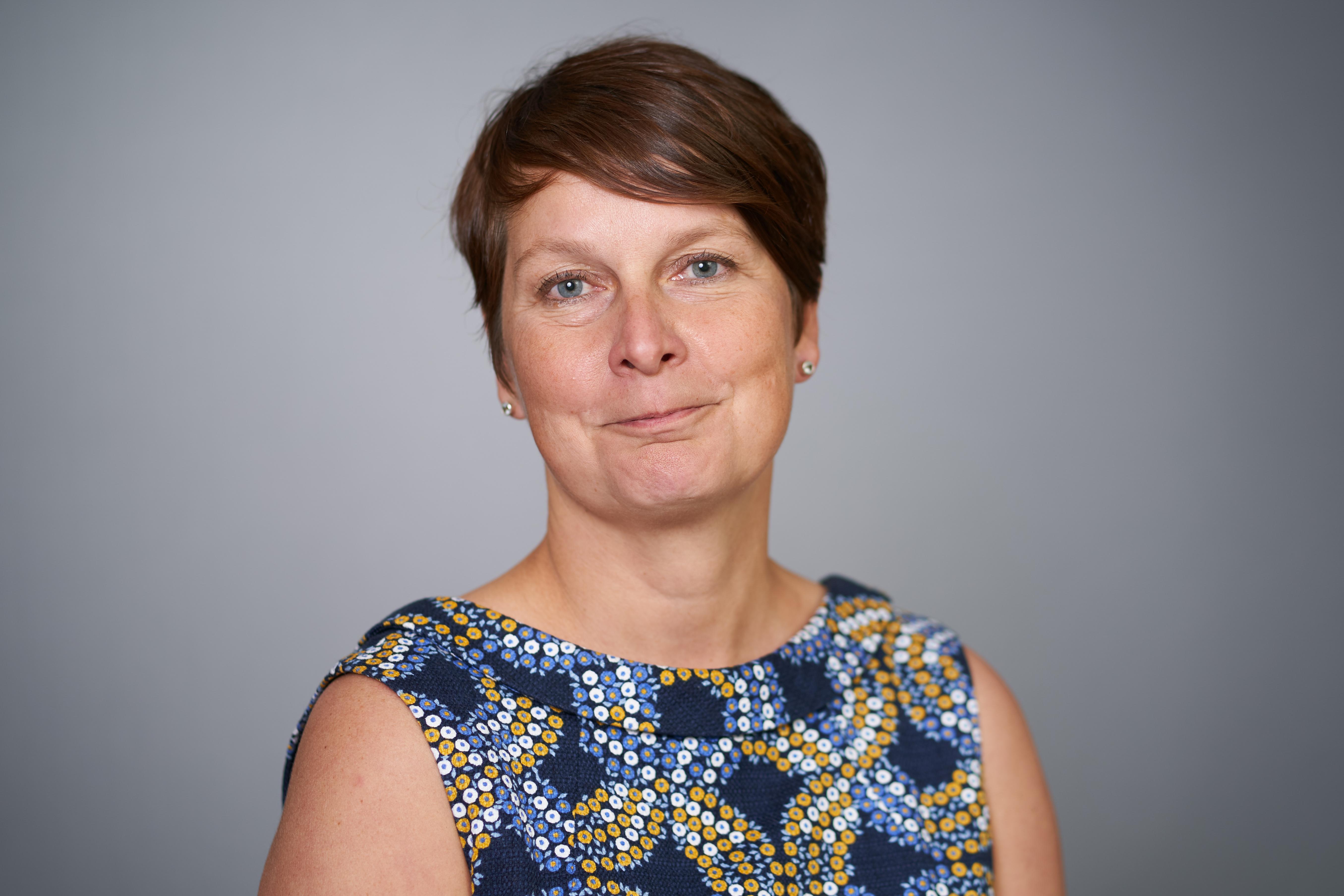 Cojur-työryhmän puheenjohtaja, oikeuspäällikkö Kaija Suvanto. Kuva: Kimmo Räisänen