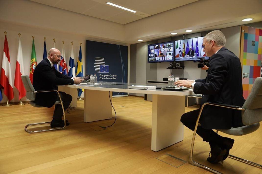 Euroopan unioni jatkaa toimintaansa poikkeusoloissa ja mukauttaa toimintansa ja päätöksenteon tilanteen vaatimalla tavalla.