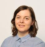 Henkilökuvassa viestintäsuunnittelija Anna Romo.